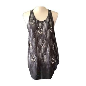 NWT Tank with All over beading